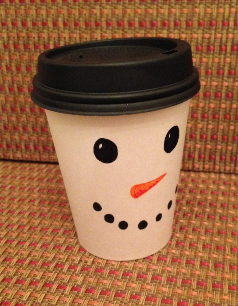 Snowman crafts with cups images for Cup snowman